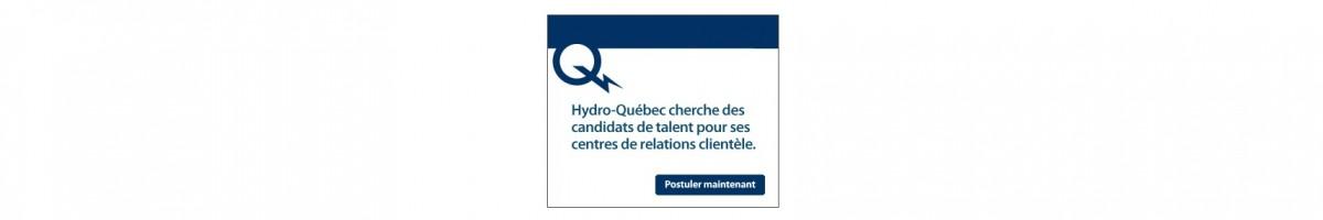 Recrutement d'Hydro-Québec